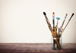 Brush. Paints and brushes - 80479769