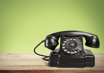 Telephone. Office: Telephone Black