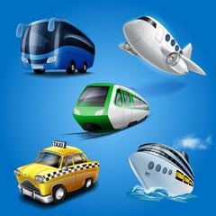 icons transport