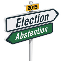 ELECTION / ABSTENTION 2015