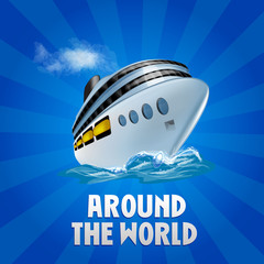 cruise around the world