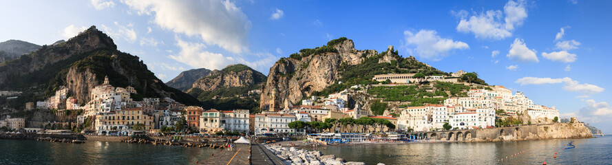 Panoramic Positano Town, Amalfi Coast
