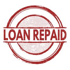 Loan repaid stamp