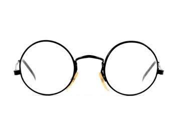 round-lens eyeglasses