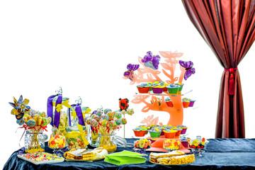 Amazing candy bar at wedding