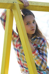 girl portrait park