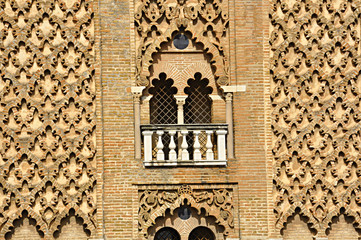 Monuments in Seville, Spain, the Giralda Tower