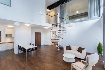 Beauty interior in contemporary design