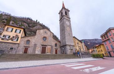 Bellagio, Italy. Cathedral of San Giacomo