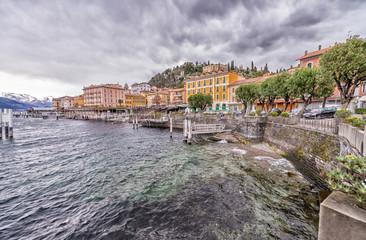 Bellagio town on Lake Como, Italy