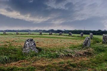 prähistorischer Steinkreis in Cornwall, England