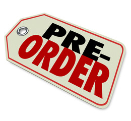 Pre-Order Price Tag Store Merchandise Sell Buy Early Sale