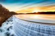 Sunrise over Croton Dam, NY - 80492145