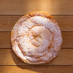 Ensaimada typical from Mallorca Majorca bakery