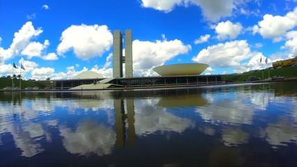 The National Congress of Brazil in Brasilia, Brazil