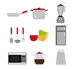 Kitchen design.