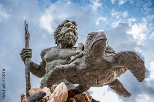 King Neptune Statue at Virginia Beach - 80493986