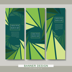 charming banner template design