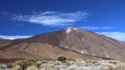 Teide volcano timelapse