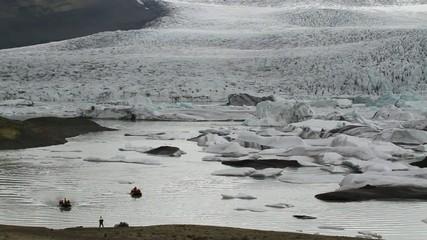 フィヤトルサロン氷河湖 Fjallsárlón Glacier Lagoon, Iceland