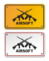 airsoft signs
