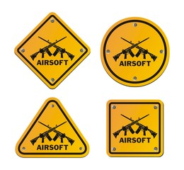 airsoft roadsigns