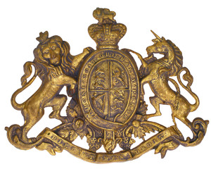 Coat of Arms Crest, UK Great Britain Ireland, British Royal