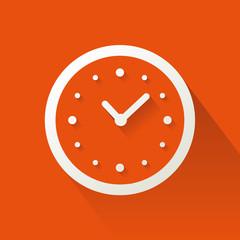 Flat time icon