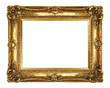 canvas print picture - Gold Picture Frame