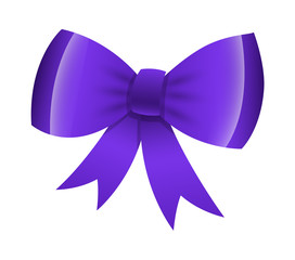 Glossy Ribbon Bow