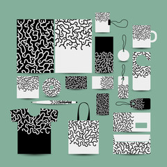 Corporate business style, abstract design