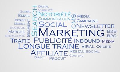 Nuage de mots - Marketing