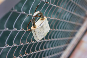 lock on the bridge