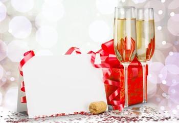 New Year's Eve. Happy New Year 2012 Still Life