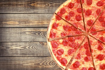 Pizza. Pizza and Slice