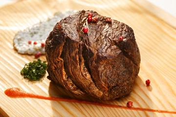 Large steak