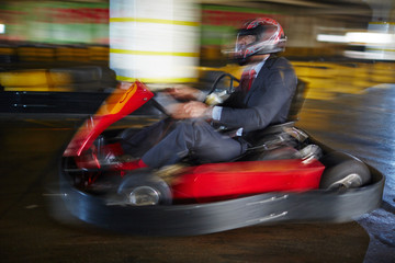 Business is like kart racing