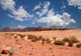 Wadi Rum Desert, southern Jordan