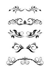 Illustration vintage borders