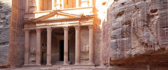 City of Petra in Jordan in the Middle East