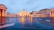 Leinwandbild Motiv Roma Basilica di San Pietro in Vaticano