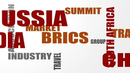 BRICS - association of five major emerging national economies