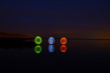 ışıklı gösteri&ışık küre