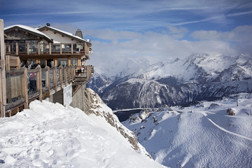 restaurant in the mountains