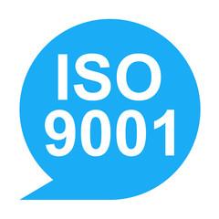 Icono texto ISO 9001