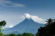 Still active Merapi volcano