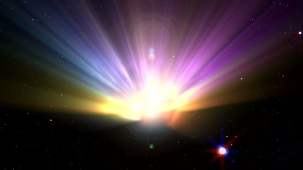 Big Bang Space Nebula 1