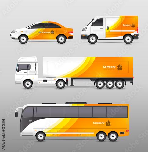 Transport Advertisement Design - 80508303