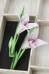 irises origami