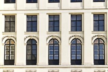 Gebäudefassade, Wien, Neuer Hofburg